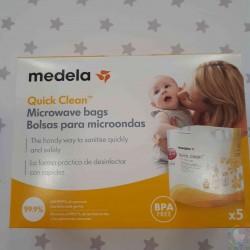 BOLSAS MICROONDAS MEDELA